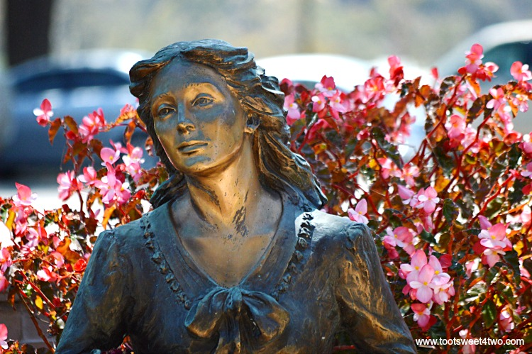 Known as the King of the Mission, Mission San Luis Rey de Francia, in Oceanside, California, is one the jewels of the California Mission System. Located on a hill above a busy main thoroughfare, this serene church is surrounded by lovely gardens peppered with amazingly incredible sculptures. See some of these beautiful statues and sculptures at www.tootsweet4two.com.