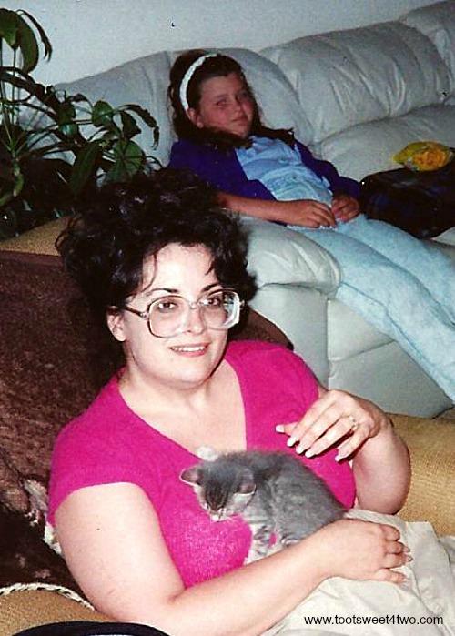 Carole, Tiffany and baby Tin Man