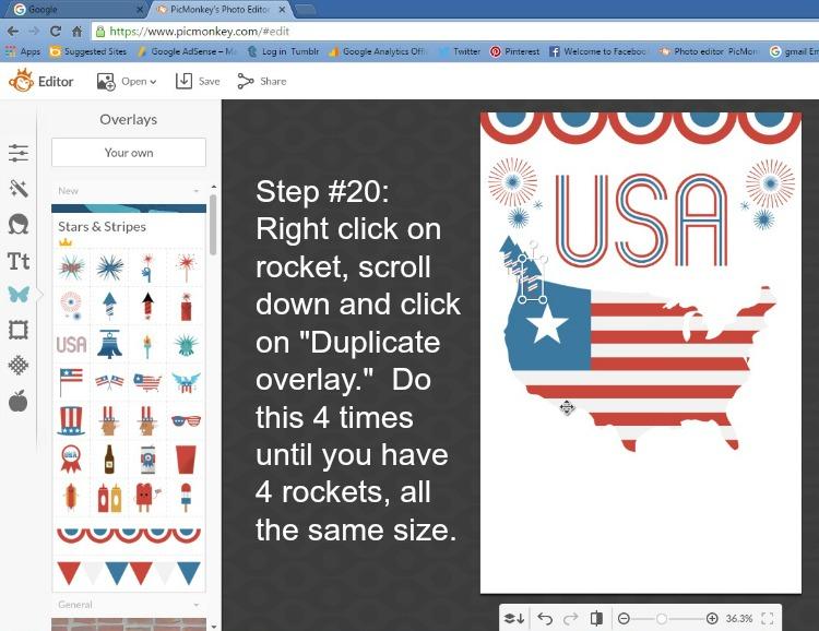 Step 20 - Duplicate Rocket