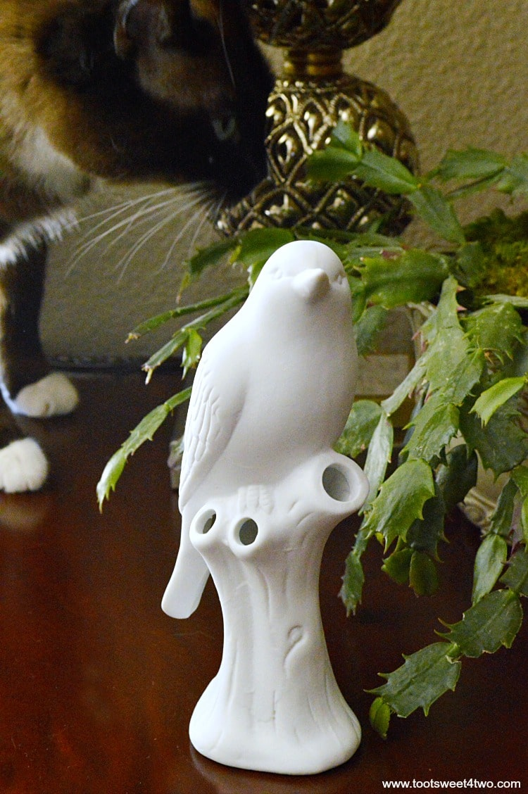 Coco and Bird Vase from Uncommon Goods