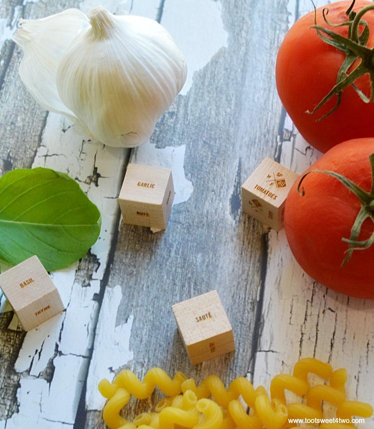 Foodie Dice and Cooking Method