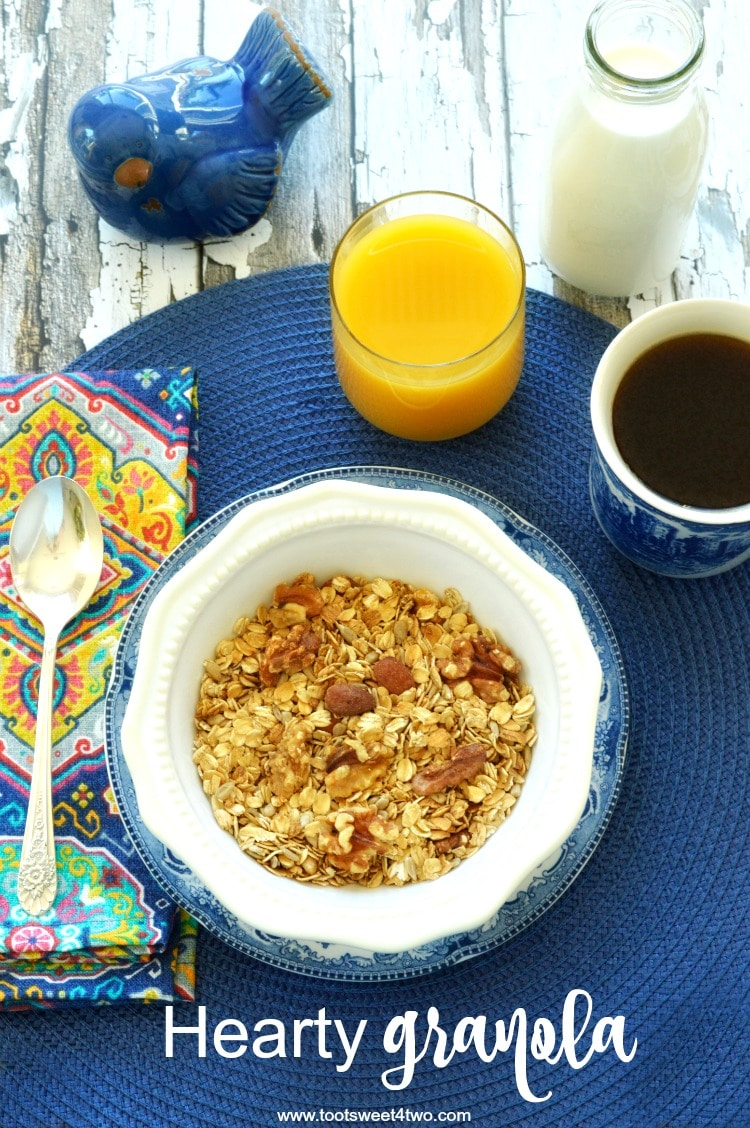Hearty Granola from IONutrition - delicious organic food delivered to your door!