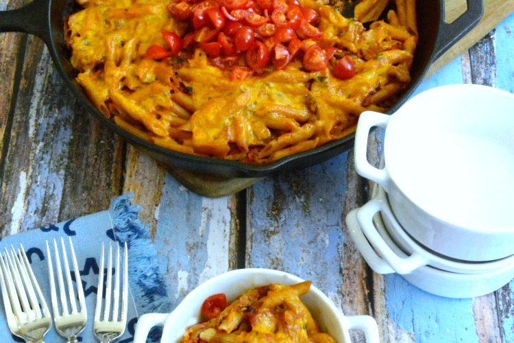 Easy Skinny Cheeseburger Casserole
