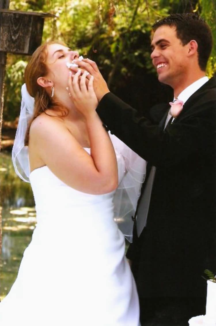 Fresh Start on a Budget wedding photo
