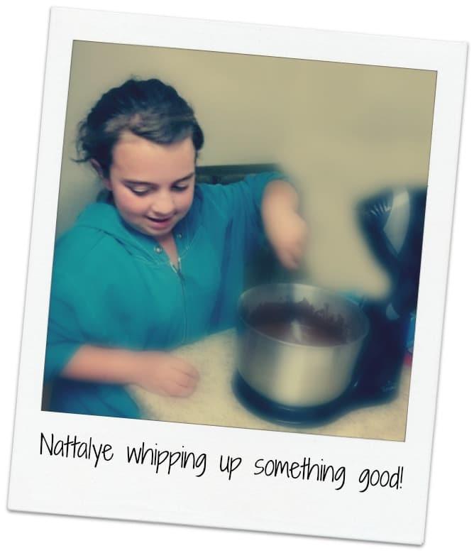 Nattalye mixing chocolate