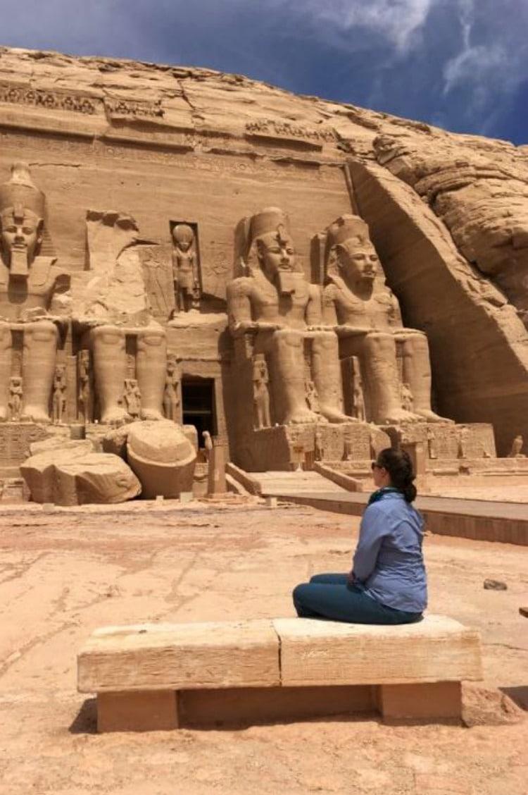 Vanessa in Egypt - Blogging Bootcamp Revealed