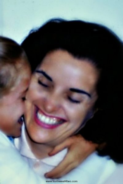 Mom Was Always Smiling {a eulogy for an angel}