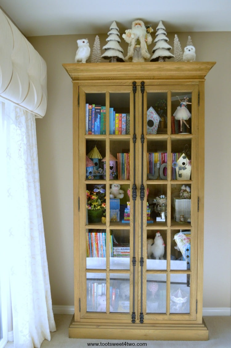 French Casement Cabinet with Bedtime Stories