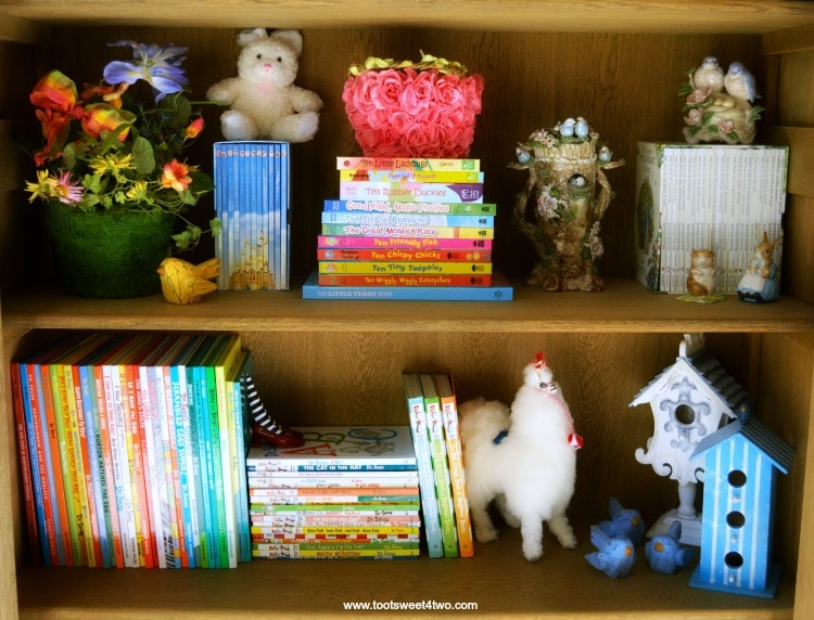 Bedtime Stories Middle Bookcase